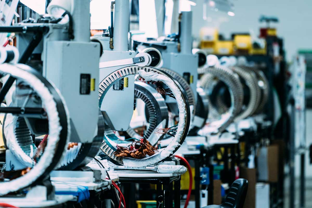 Stator Manufacturing Ramco Electric Motors Greenville